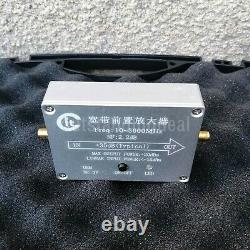 100MHz-4GHz Preamplifier Module + 5pcs Near-field Probes Kit for RF Receivers SZ