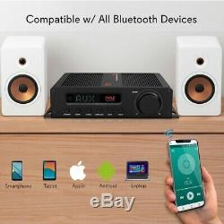 100w 5ch Bluetooth Hi-fi Av Home Theater Power Digital Amp Amplifier Receiver