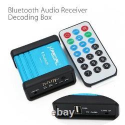 10XWireless Bluetooth Audio Receiver Decoding Box Preamp Amplifier With Po I4C0