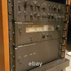 1970's Vintage Heathkit Stereo Amplifier, tuner, preamplifier+turntable+cabinet