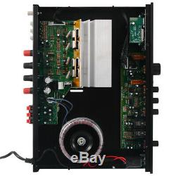 2000W 110V 5Ch bluetooth Home Stereo Power Amplifier Receiver Amp Hi-Fi FM SD US