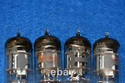 6CU8 RCA NOS Audio Receiver Pre-amplifier Vacuum Tubes Quad