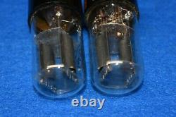 6SL7GT RCA Audio Receiver Guitar Pre-Amplifier Vacuum Tubes Tested Pair