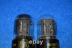 6SN7GTA Raytheon Audio Receiver Guitar Pre-Amplifier Vacuum Tubes Tested Pair