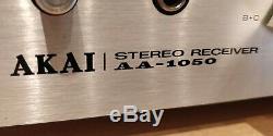 Akai AA-1050 Stereo Receiver (1976-78)