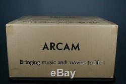 Arcam AVR550 AV Receiver (Black). Brand-new, unopened. Worldwide shipping