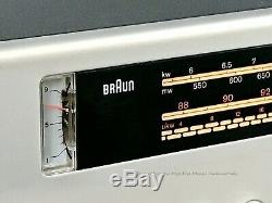 BRAUN 501K Regie, schwerer FM-AM Vintage Receiver, D. Rahms, Made in Germany