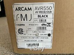 Brand New Arcam FMJ AVR550 AV Receiver (Black)
