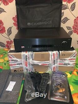 Cambridge CXA60 Stereo Integrated Amplifier Black, Boxed + BT100 Audio Receiver