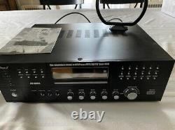 Channel Pre Amplifier Receiver-1000 Watt Compact Rack Mount Home Theater Stereo