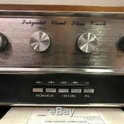Crown Ic-150 Vintage Stereo Pre Amplifier Console Serviced Cleaned Tested