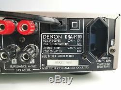 Denon Dra-f100 Stereo Amplifier With Radio Am/fm