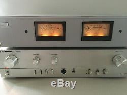 Gross VU-Meter Anzeiger für Verstärker Receiver Tonbandmaschienen STUDER REVOX