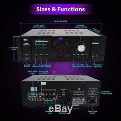 Home Audio Amplifier Receiver 3000 Watt 4 Channel Surround Sound Remote DVD TV