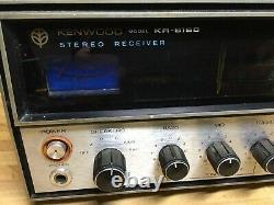 Kenwood KR-6160 Stereo Receiver Preamp Tuner Amp Amplifier READ DESCRIPTION