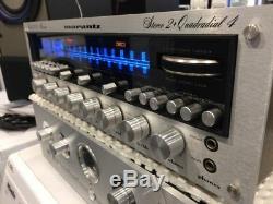 MARANTZ RECEIVER 4270 Stereo 2 + Quadradial 4 (1975) TOPCONDITION 55450