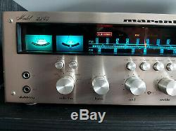 Marantz 2245 receiver champagne engraved very rare, Serial number 1379