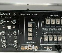 Marantz 3300 Stereo Control Console Pre-Amplifier With Handbook, Cabinet Diagram