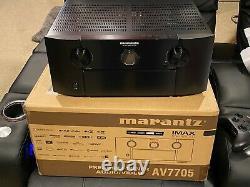 Marantz AV7705 11.2 Channel 4K Ultra HD AV Surround Pre-Amplifier Processor