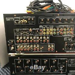 Marantz Mm7055 5 Channel Power Amplifier & Av7701 Tuner / Pre Amplifier