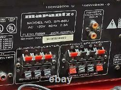 Marantz SR-66 Audio / Video Surround Amplifier Preamp Receiver