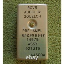 Military Radio Module A 4300 A, Receiver Audio & Squelch Pre-Amplifier, NOS