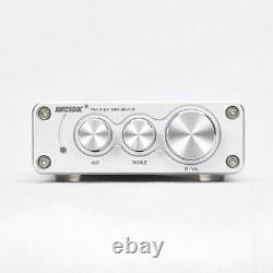 Mini Power Amplifier Receiver Bluetooth 5.0 Bass Treble High 50W Antenna Preamps