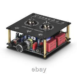 Mini Vacuum Tube Amplifier Bluetooth Receiver HiFi Tube Preamp Desktop Audio Amp