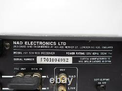 Nad 701 Stereo Receiver Amplifier With Phono Preamp Hifi Tested! Free Shipping
