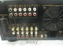 Nakamichi AV-1 Stereo Receiver amplifier, Preamplifier (For Parts) (MB)