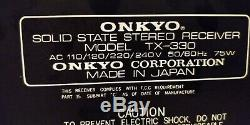 Onkyo TX-330 Solid State Stereo Receiver