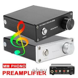 PHONO MM Record Player Amplifier Turntable Preamplifier HiFi Preamp Receiver RCA