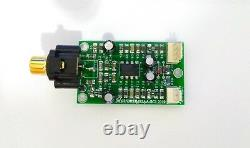 Phono Pre Amplifier RIAA Hi Quality Low Noise For Receivers, Integrated etc