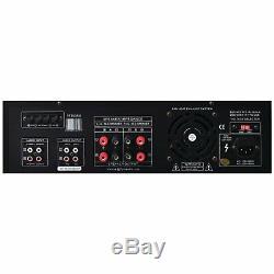 Pyle 300 Watt Digital AM/FM Home Theater Stereo Receiver SD/USB Reader/Remote