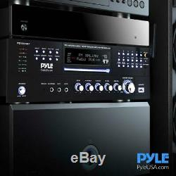 Pyle Bluetooth Home Theater Pre-amplifier With CD/DVD Player USB Reader System