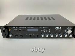 Pyle Bluetooth Hybrid Amplifier Receiver Home Theater Pre-Amplifier (P3001BT)