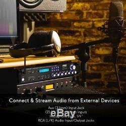 Pyle P2001BT Multi Channel Bluetooth Preamplifier Receiver, Pro Audio, 2000 Watt