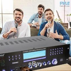 Pyle PD3000BT 4-Channel Bluetooth Preamplifier Stereo Receiver System, 3000 Watt