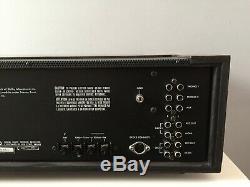 RARE LUXMAN R-1050 AM/FM STEREO RECEIVER révisé garantie 3 MOIS VGC