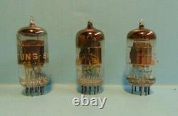 RCA 6AN8A TUN-SOL 6AN8, RAYTHEON 6AN8 Audio Receiver Pre-Amplifier Vacuum Tubes