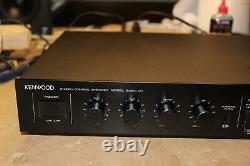 Restored Kenwood Basic C1 Pre-Amplifier