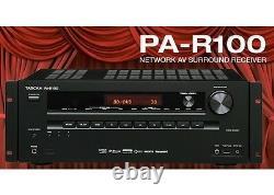S/N0030150 TASCAM PA-R100 Network AV 5.2 3D/4K Receiver/Pre-amplifier -NEW
