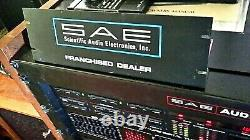 SAE STEREO amplifier, preamp, tuner, equalizer, receiver ORIGINAL DEALER SIGN xxRARE