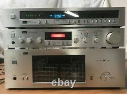 SANSUI B-77 power Amplifier, C-77 Stereo Pre Amplifier, T-77 Tuner