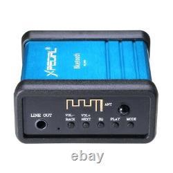 SANWU Wireless Bluetooth Audio Receiver Decoding Box Preamp Amplifier With Power