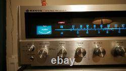 SANYO DCX 4000K receiver amplifier preamplifier vintage audio rare