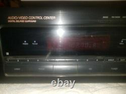 SONY STR-D565 AUDIO/VIDEO STEREO RECEIVER/AMPLIFIER BLACK With PHONO PRE-AMP INPUT