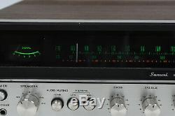 Sansui 771 Stereo Integrated Receiver Amplifier Vintage 1970's SERVICED