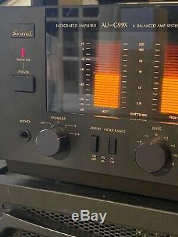 Sansui AU-G99X Intergraded Amp Vintage 160 Watts Monster Receiver Rare