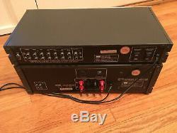 Sansui C-77 Preamp & B-77 Amplifier